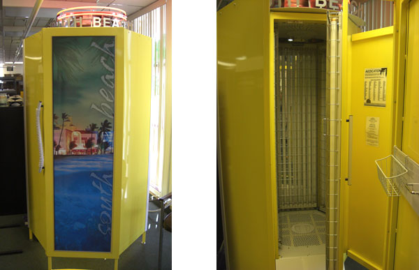South Beach Tanning Booth
