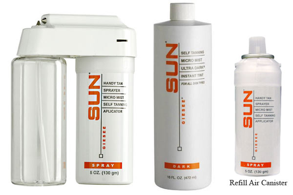 Sun Laboratories Handy Tan Portable Sunless Sprayer
