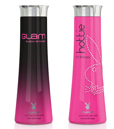 Glam and Hottie Tanning Lotions by Playboy