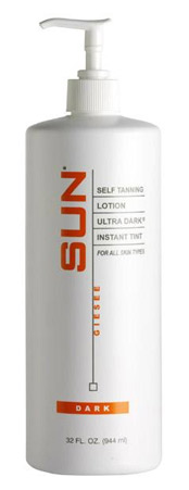 Ultra Dark Sunless Lotion by Sun Laboratories 32 oz.