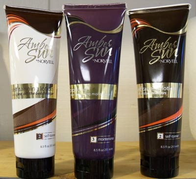 Two Amber Sun Self-Tanning Lotions and Color Extending Moisturizer