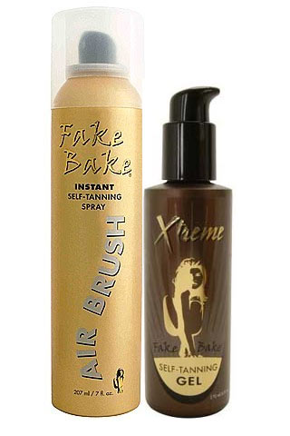 Fake Bake Self-Tanning Spray and Self-Tanning Gel
