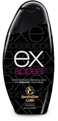 Ex Appeal Tanning Lotion by Australian Gold - New 2011