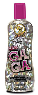Australian Gold Going GaGa Tanning Lotion New 20111