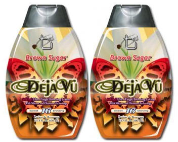 Brown Sugar DEJA VU Hot Tingle Tanning Lotion