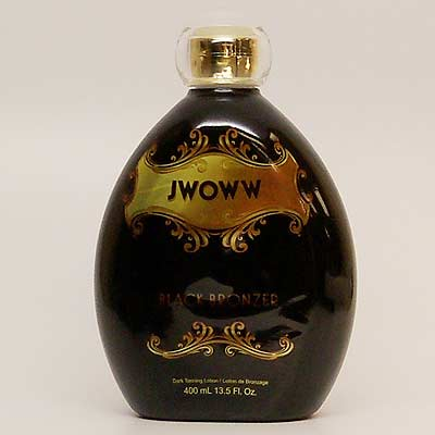 New! JWOWW Black Bronzer Tanning Lotion