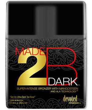 Devoted Creations MADE 2B DARK Super-Intense Bronzer Tanning Lotion 8.5 oz.