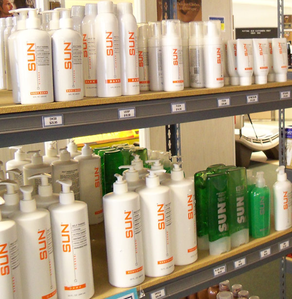 Sun  labs sunless lotions