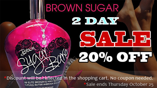 2 Day Brown Sugar 20% Off Sale