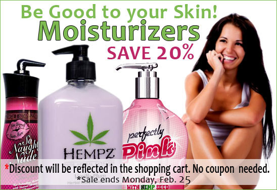 20% Off Moisturizers at TanForLess