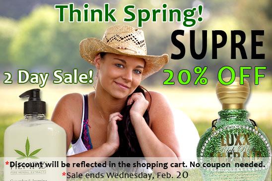 Supre Sale! Save 20%