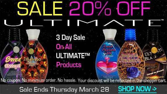 UltimateTanning Lotion Sale!