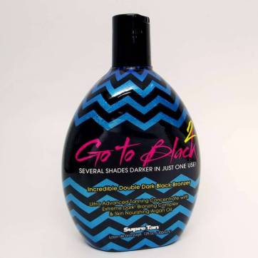 Supre GO TO BLACK 2 DOUBLE DARK Bronzer