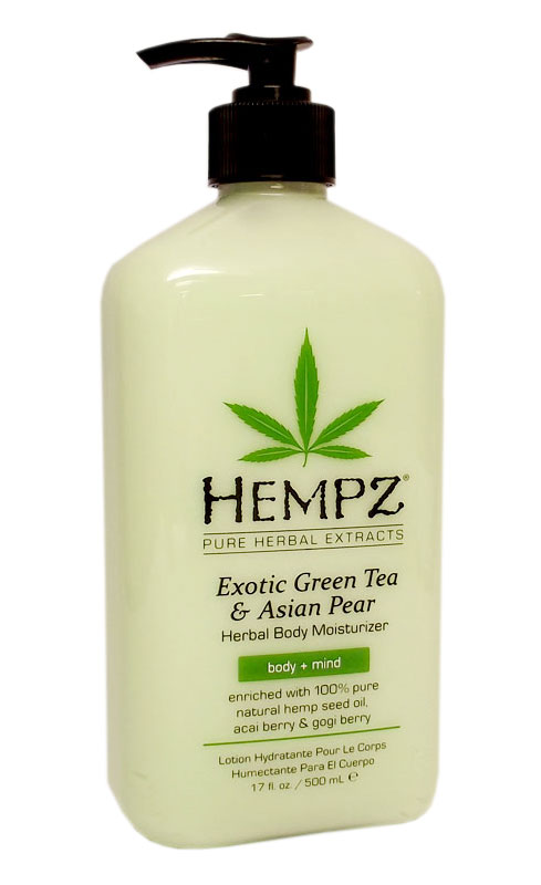 New moisturizer from Hempz