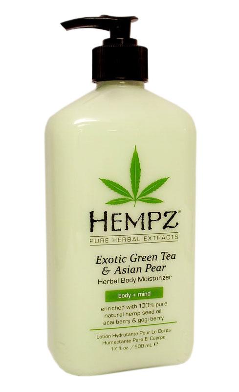 New moisturizer from Hempz
