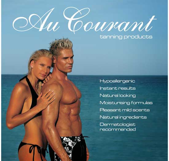 Au Courant Sunless Products