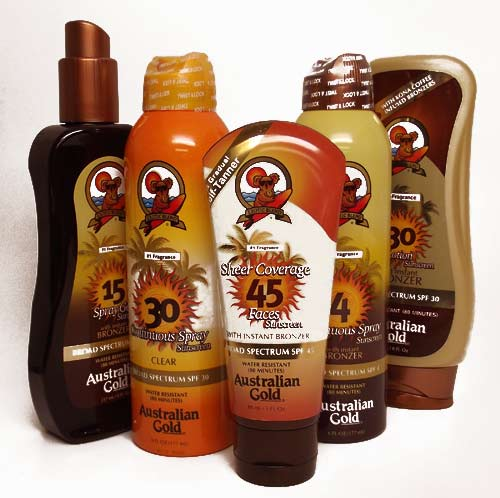 Australian Gold Sunscreens