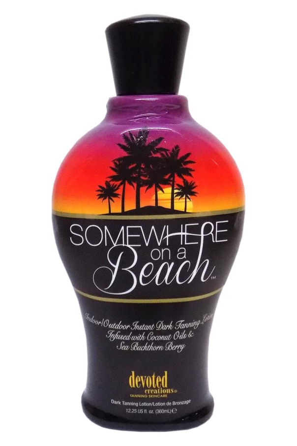 Devoted Creation SOMEWHERE ON A BEACH Instant Dark Lotion - 12.25 oz.