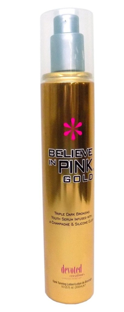Devoted Creations BELIEVE IN PINK GOLD Triple Bronzer - 10 oz.