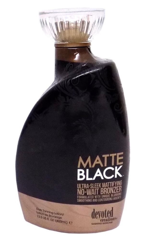 Devoted Creations MATTE BLACK Mattifying No-Wait Bronzer - 13.5 oz.