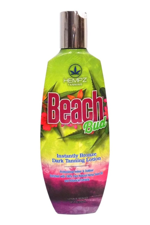 Hempz BEACH BUD Instantly Bronze Tanning Lotion - 8.5 oz.