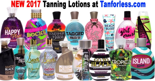 new 2017 tanning lotions and moisturizers