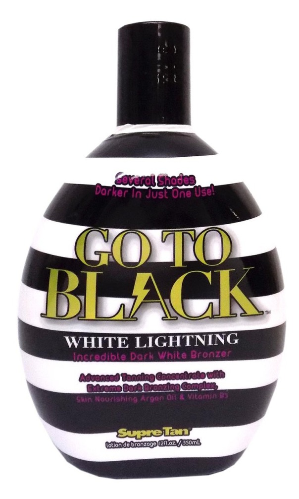 New 2017 Supre GTB WHITE LIGHTNING Dark White Bronzer - 12 oz.
