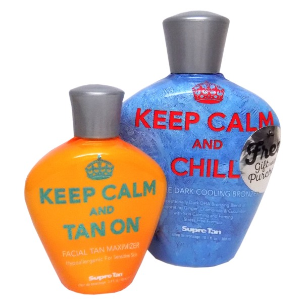 Supre KEEP CALM & CHILL Double Dark Cooling Bronzer - 10.0 oz.