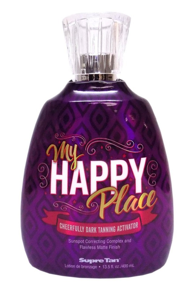 Supre MY HAPPY PLACE Dark Tanning Activator - 13.5 oz.