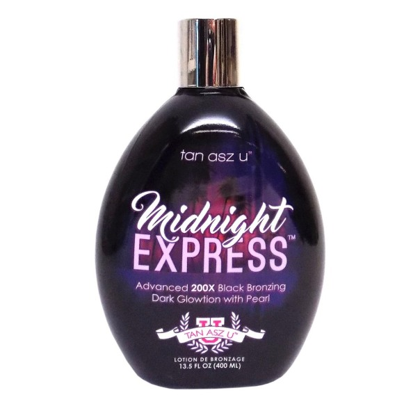 Tan Asz U MIDNIGHT EXPRESS 200X Black Bronzer - 13.5 oz.